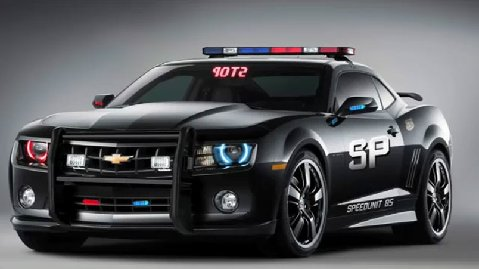 Camaro police cruiser Chevy Camaro Police Car